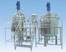 Cautions for cleaning of reaction kettle, chemical